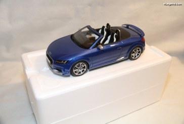 Miniature Audi TT RS Roadster au 1/18 – GT Spirit