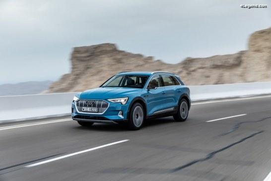 Des pneus Bridgestone en première monte sur l'Audi e-tron