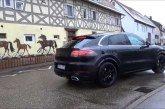 Spyshots du nouveau Porsche Cayenne Sport Turismo