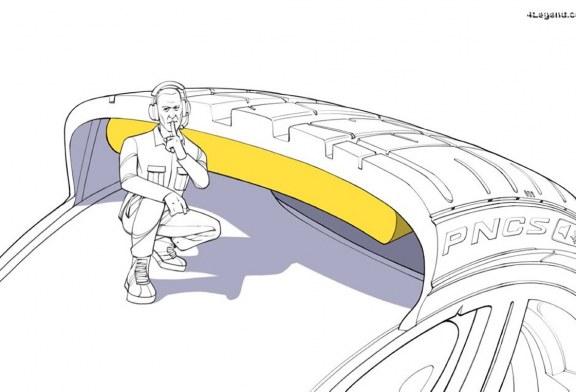 La technologie Pirelli PNCS pour réduire le bruit des pneus