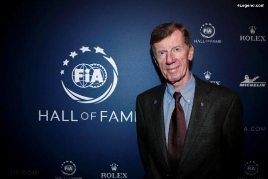 Walter Röhrl intronisé au temple du Hall of Fame de la FIA