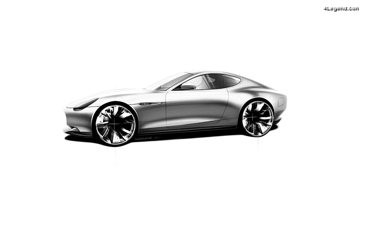 Piëch Mark Zero - Une supercar électrique réalisée par le fils de Ferdinand Piëch