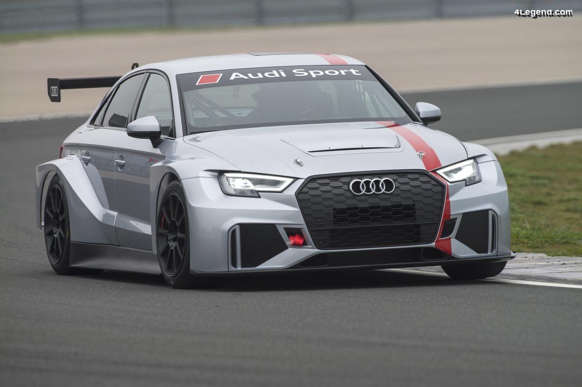 Audi engage quatre RS 3 LMS en WTCR pour 2019