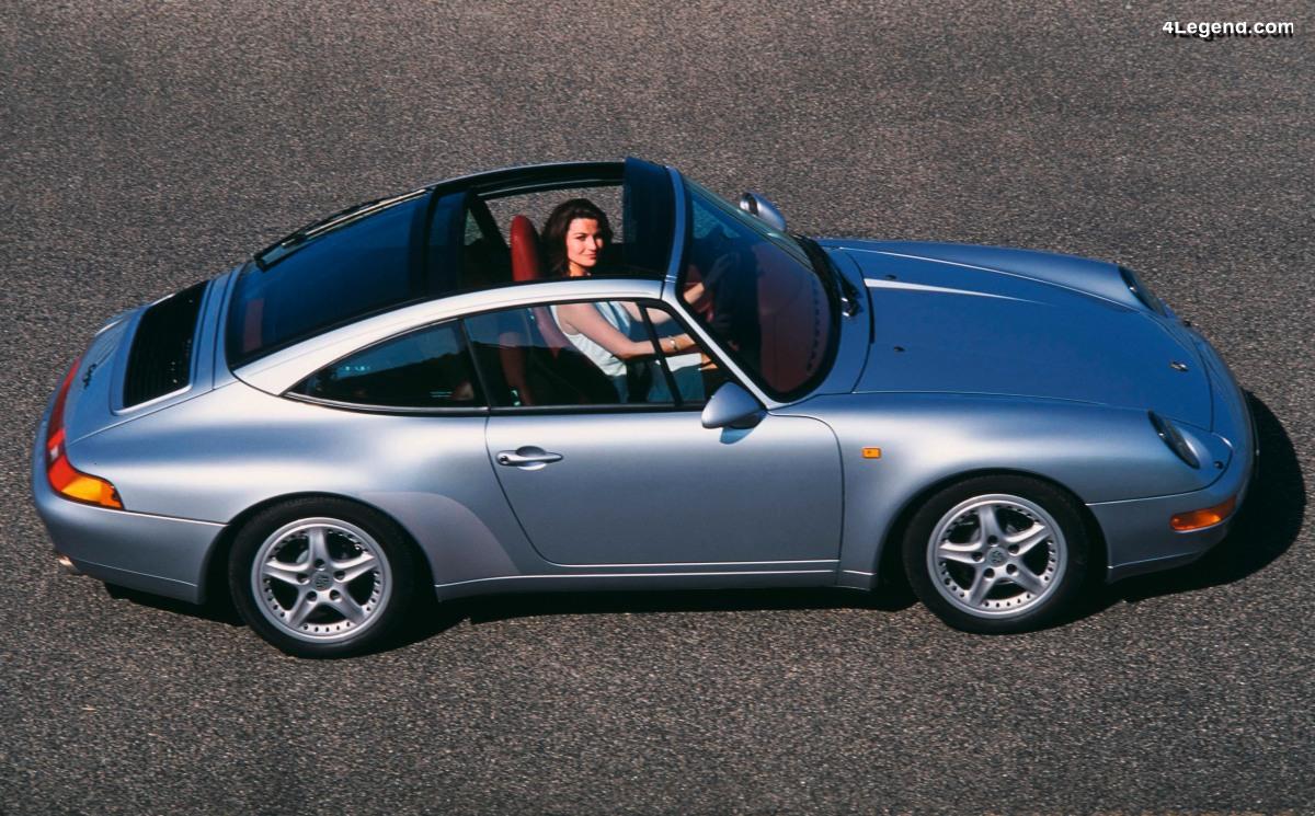 Anecdote : Pourquoi la Porsche 911 Targa type 993 avait des jantes spécifiques?
