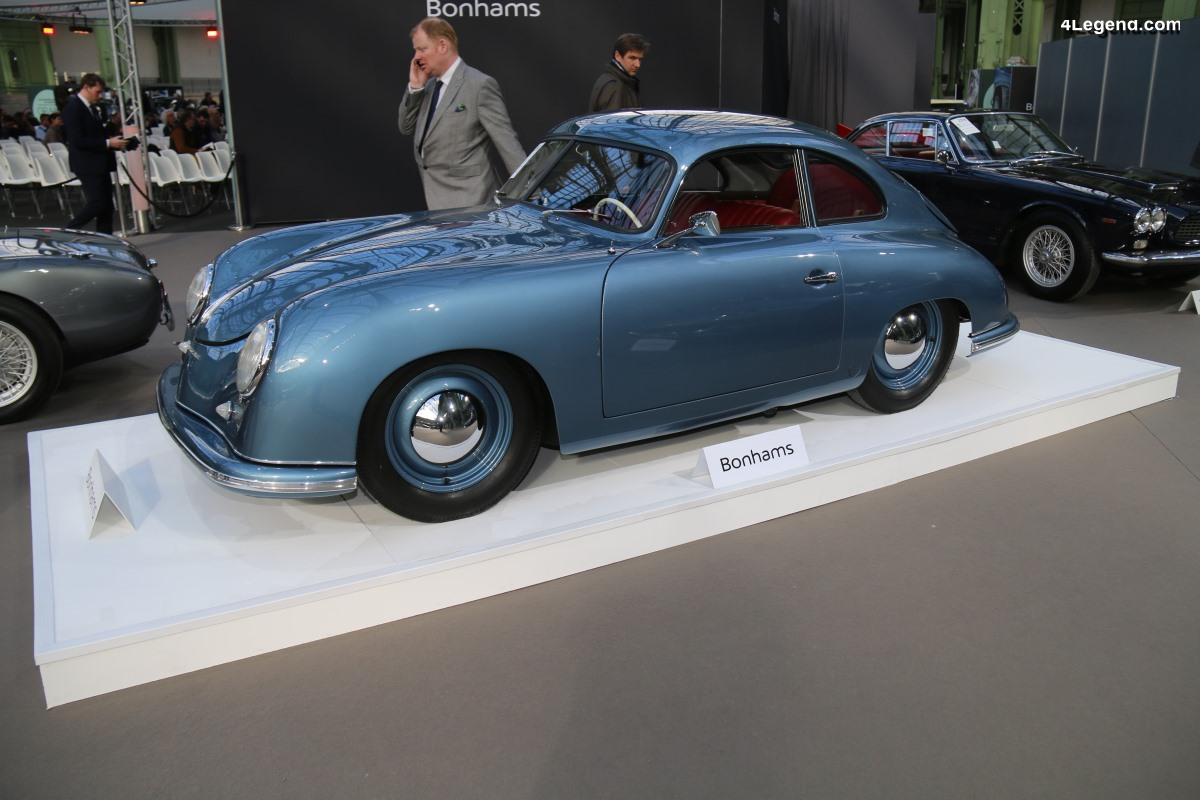 Porsche 356 Coupé Split-Window de 1950 - Châssis 5310