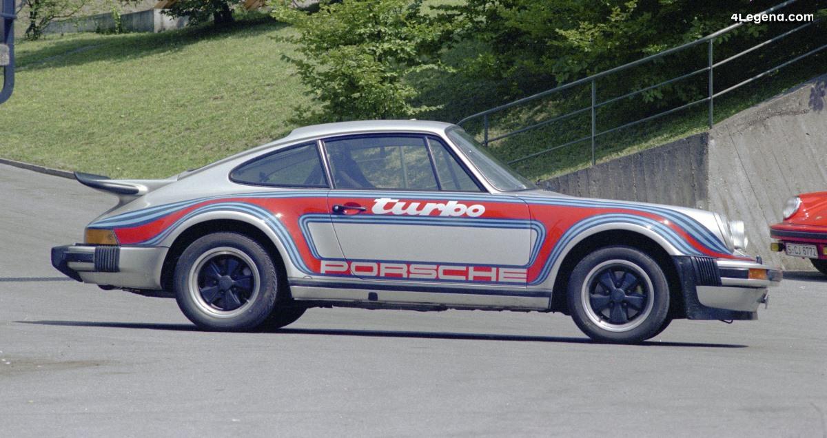 Porsche 911 Turbo RS de 1975 - Un modèle spécifique conçu pour Herbert von Karajan