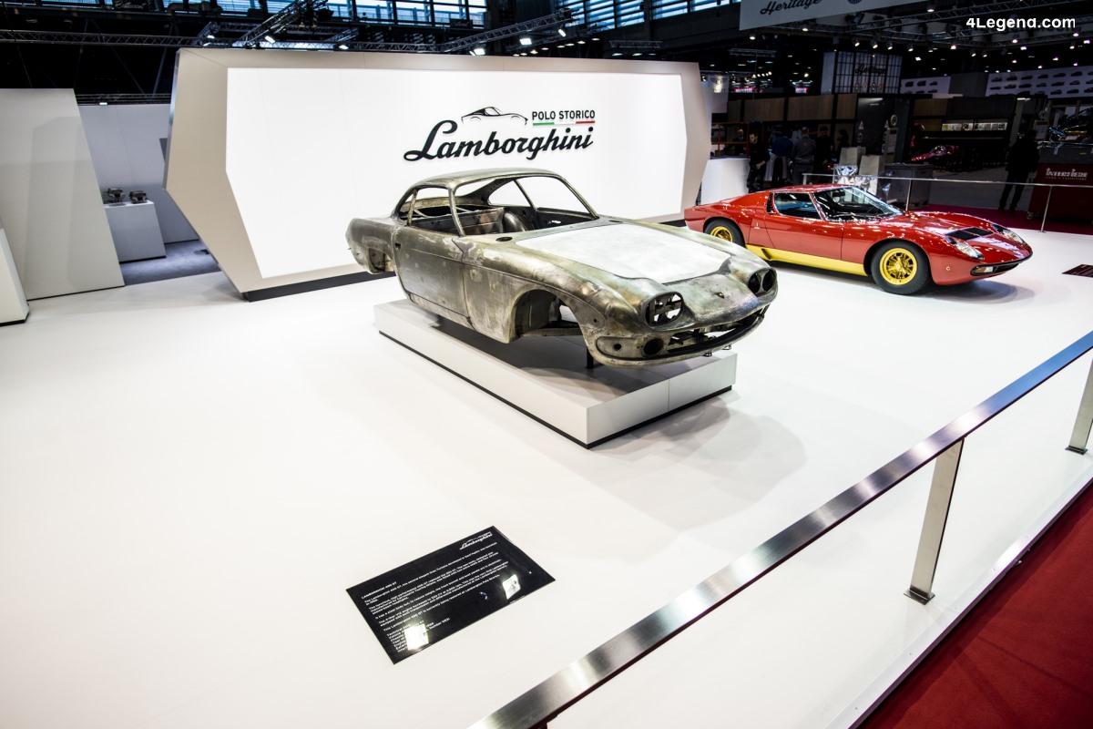 Rétromobile 2019 - Lamborghini Polo Storico met en avant son expertise