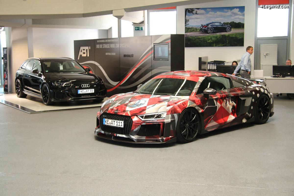 Visite du siège du préparateur Audi - ABT Sportsline - à Kempten