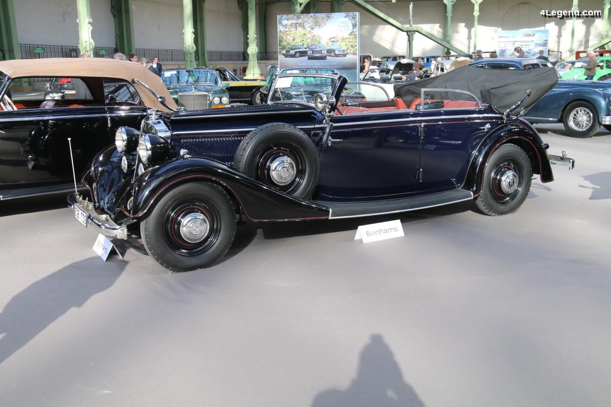 Horch 830 BL Cabriolet de 1938 - Châssis 8492020