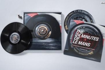 200 disques vinyle créés à partir de pneus de la Porsche 919 Hybrid