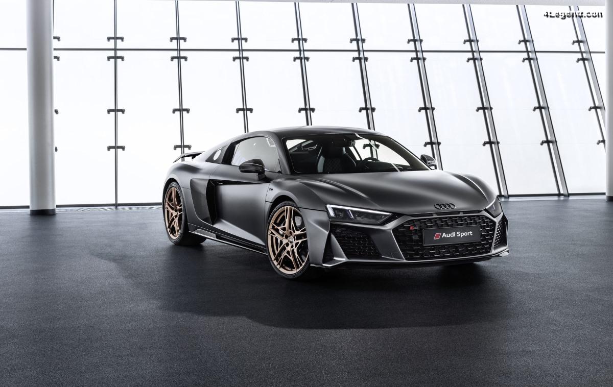 Audi R8 V10 Decennium - Une série limitée de 222 exemplaires pour les 10 ans du moteur V10