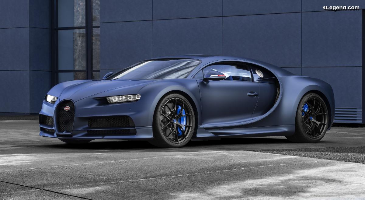 Bugatti Chiron Sport « 110 ans Bugatti » - 20 exemplaires en hommage à la France