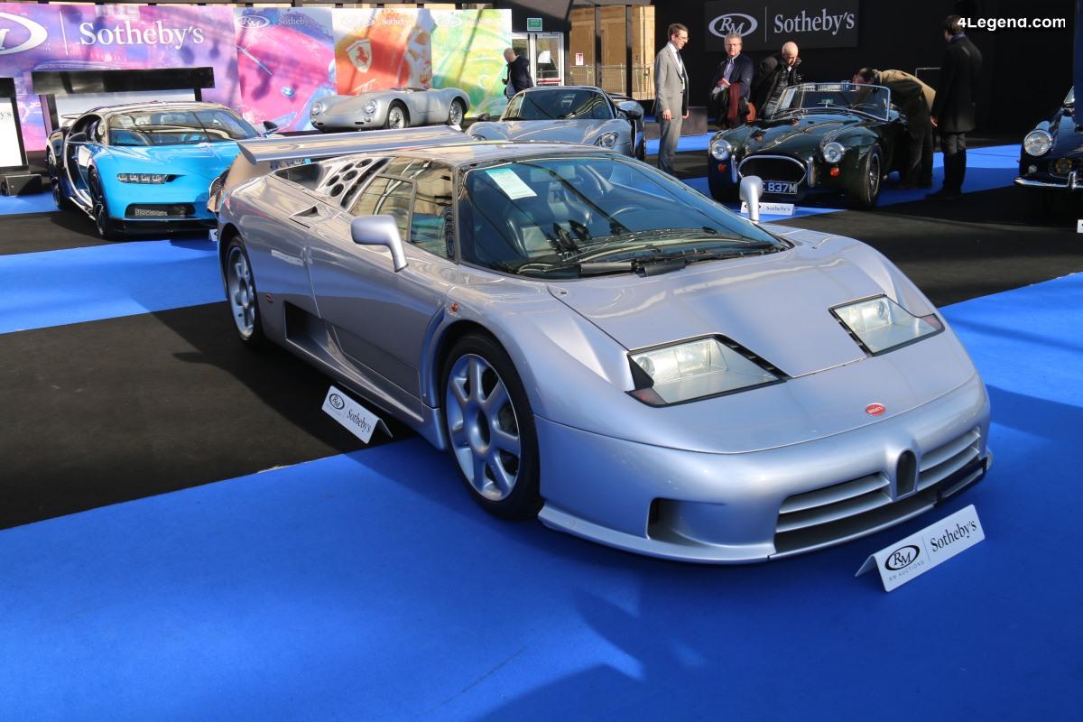 Bugatti EB110 Super Sport de 1994 - Châssis RCD39012