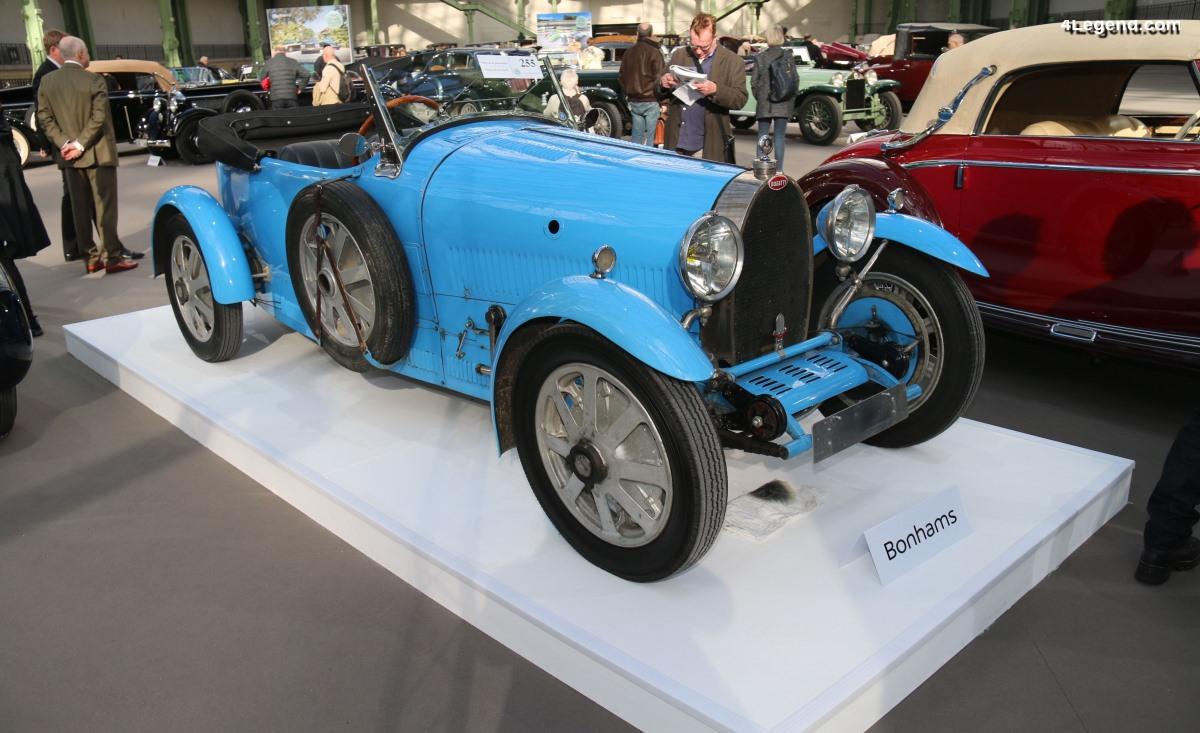 Bugatti Type 43 Grand Sport Tourer de 1928 - Châssis 43258