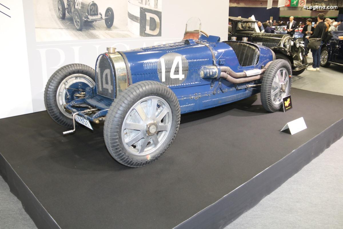 Bugatti Type 51 Grand Prix de 1931 - Châssis n° 51128 dans son état d'origine