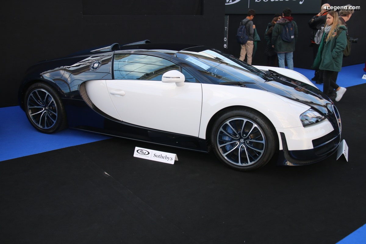 Bugatti Veyron 16.4 Grand Sport Vitesse n°73 de 2014 avec une teinte Porsche