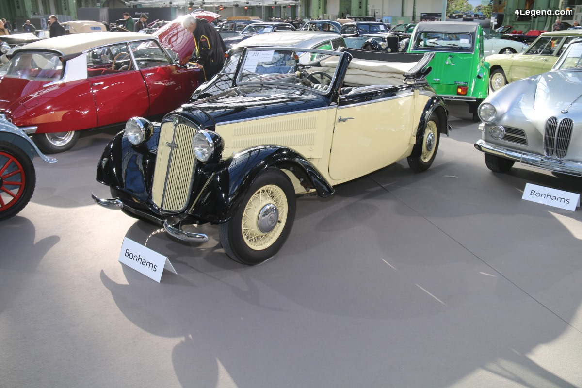 DKW F8 Luxe Cabriolet de 1939 - Châssis 3142010