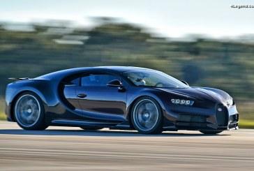 Essais de la Bugatti Chiron au cœur du Centre spatial Kennedy