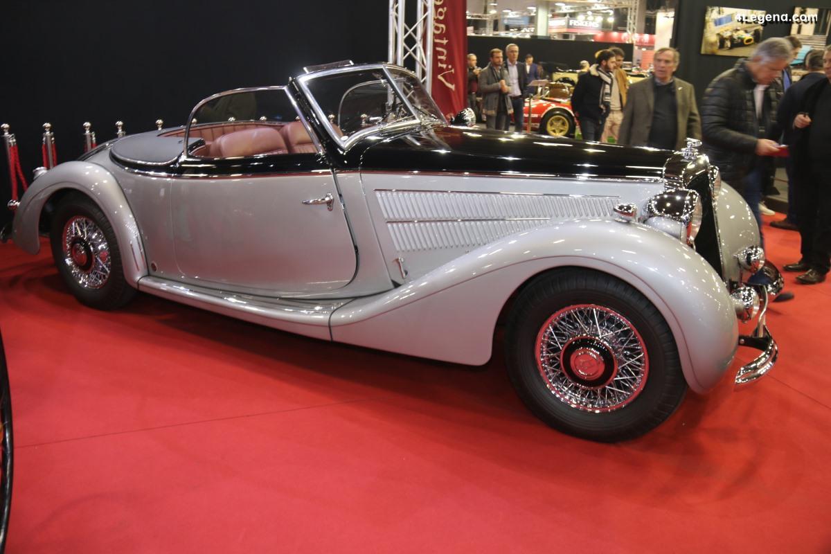 Horch 930 V Roadster Gläser de 1938 châssis 930918 - L'une des 5 restantes