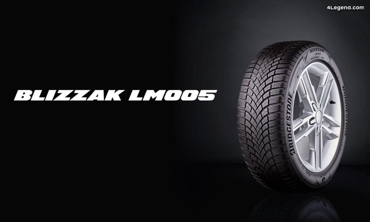 Nouveau pneu hiver Bridgestone Blizzak LM005 - Un pneu très prometteur