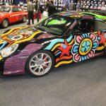 Rétromobile 2019 – Une Porsche 911 GT3 type 996 Art Car
