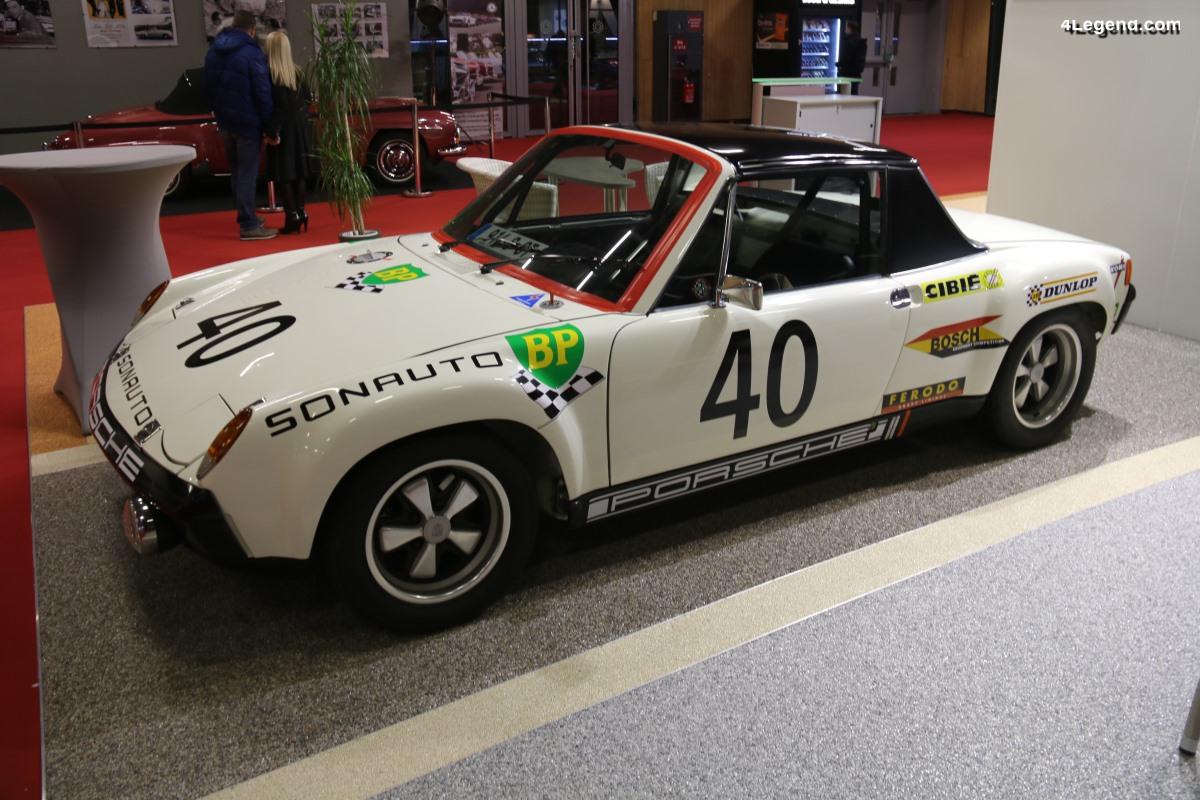 Rétromobile 2019 - La Porsche 914 à l'honneur sur le stand de la fédération des clubs Porsche