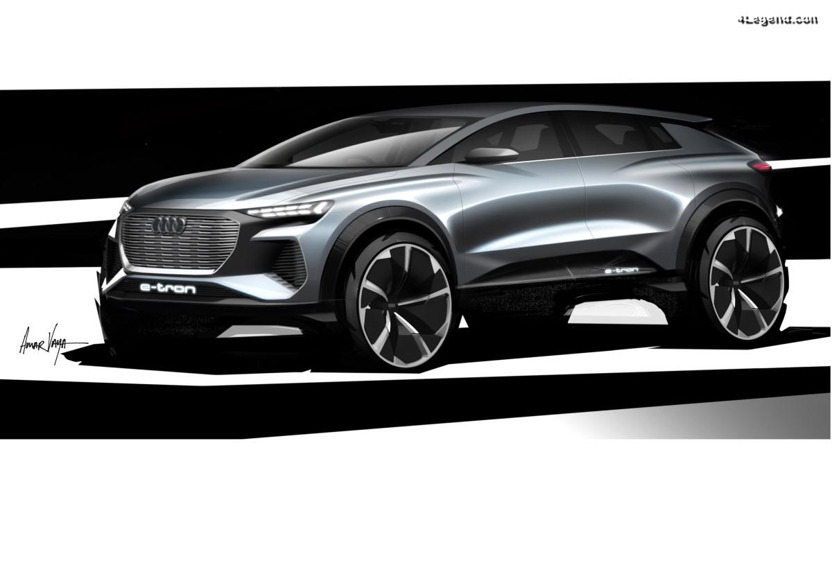 Audi Q4 e-tron concept - Un avant goût avant Genève 2019