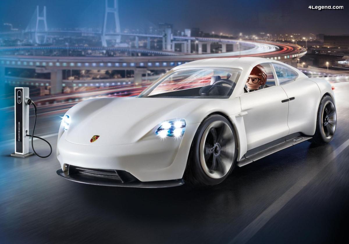 La Porsche Mission E arrive en Playmobil (réf 70078)
