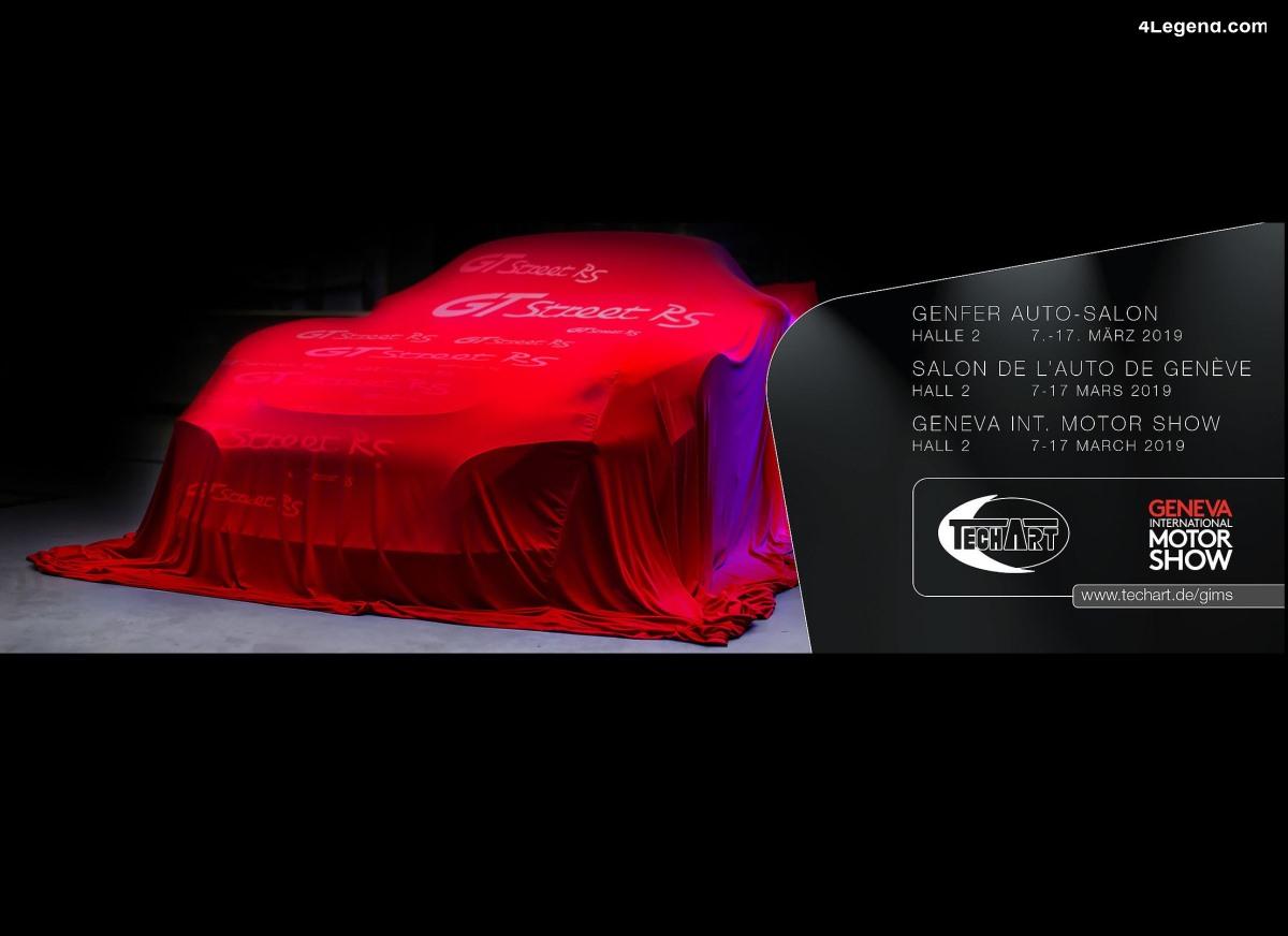 Techart tease sa nouvelle GTstreet RS pour Genève 2019