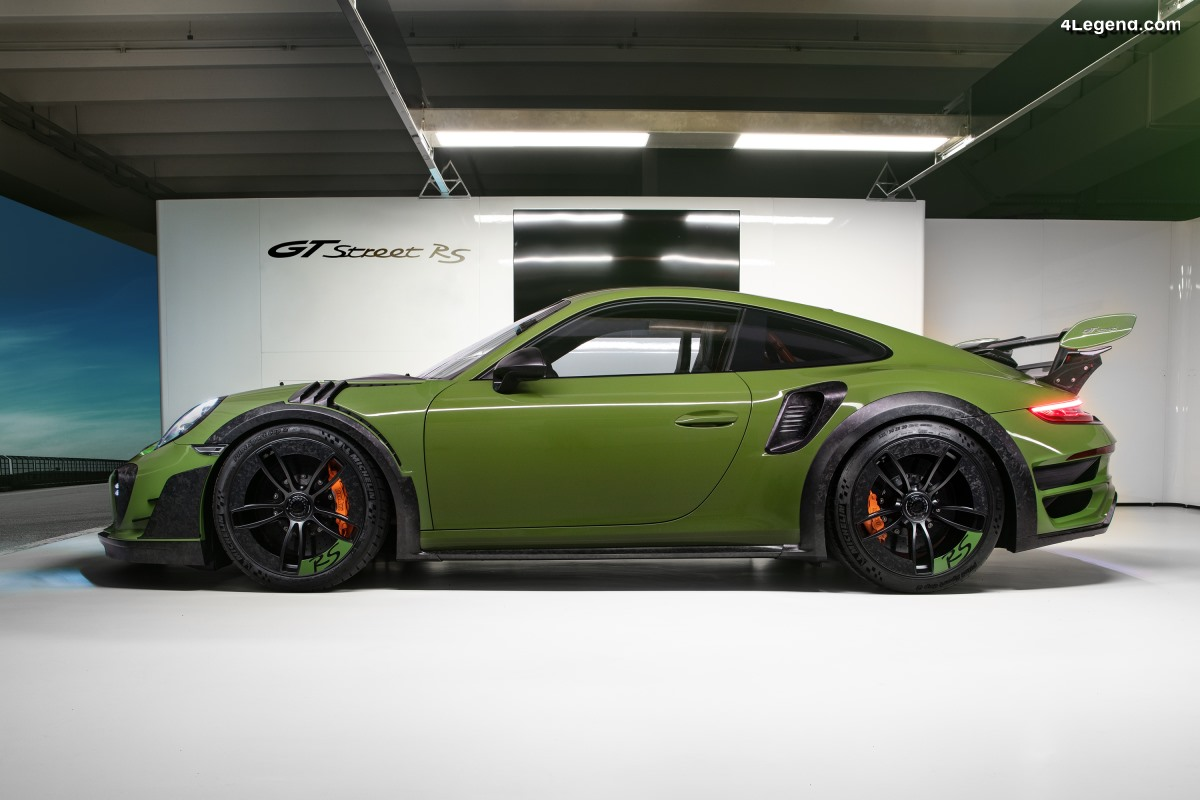 Techart GTstreet RS - Une Porsche 911 Turbo S type 991 de 770 ch