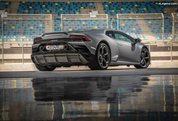 Technologie LDVI sur la Lamborghini Huracán EVO