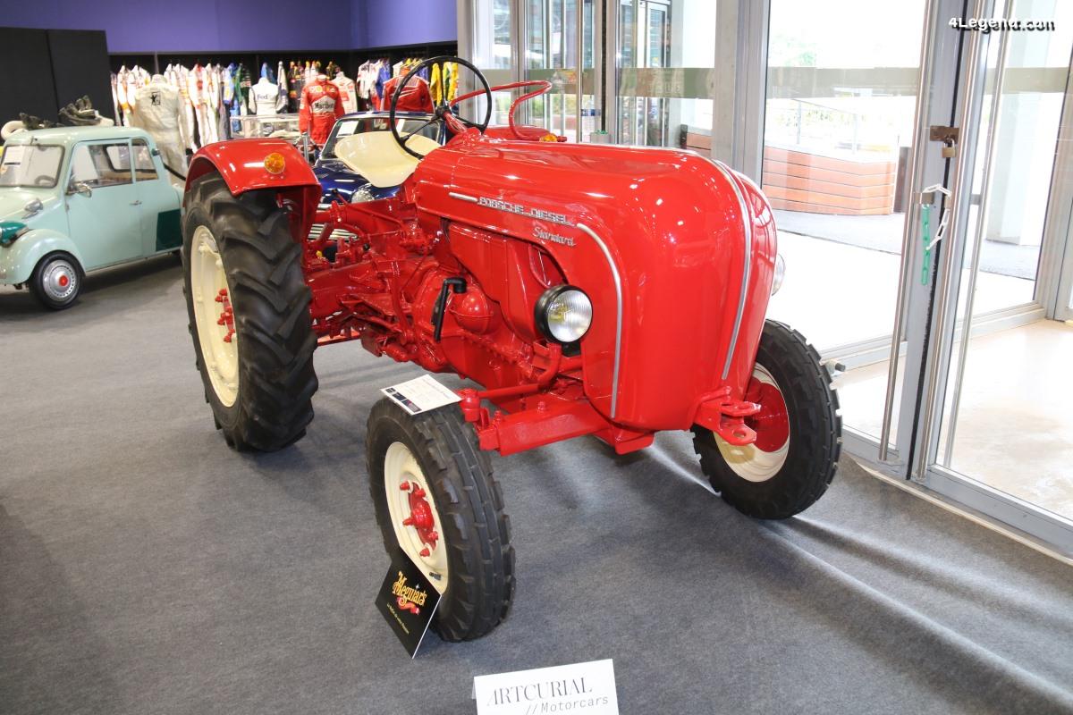 Tracteur Porsche-Diesel Type 218 Standard de 1960 - Châssis 8862H