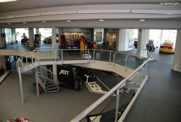 Visite du musée d'ABT Sportsline avec des Audi de course