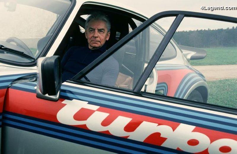 Les pochettes les plus tartes ou rigolotes ! (2) - Page 4 Porsche-911-turbo-rs-type-930-herbert-von-karajan-1975-001
