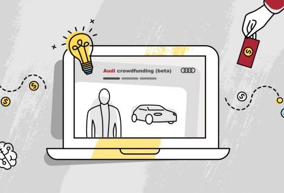 Des projets innovants réalisé par du financement participatif chez Audi