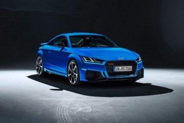 Nouvelles Audi TT RS Coupé et TT RS Roadster