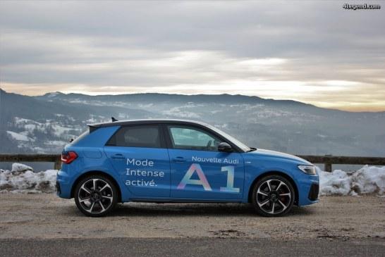 Test drive Audi A1 Turbo Blue Edition: que pour le look?