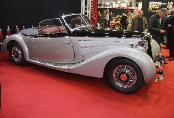 Horch 930 V Roadster Gläser de 1938 châssis 930918 – L'une des 5 restantes