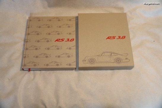 Livre «Porsche 964 Carrera RS 3.8» limité à 964 exemplaires – publié par Sportfahrer Verlag