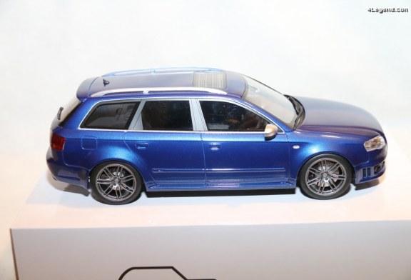 Miniature Audi RS 4 Avant B7 de 2006 au 1:18 par ottomobile