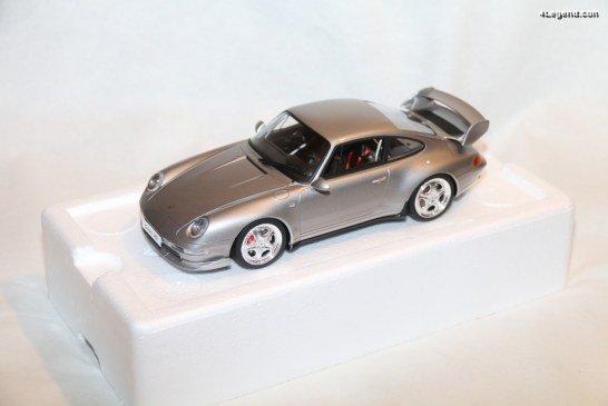Miniature 1:18 Porsche 911 Carrera RS Clubsport type 993 de 1995 par GT Spirit