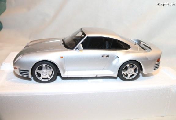 Miniature Porsche 959 de 1986 au 1:12 par GT Spirit – 959 exemplaires