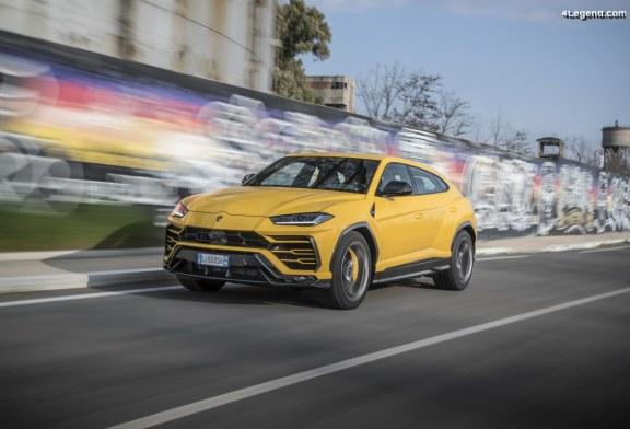 Lamborghini Urus Performante : c'est à l'étude