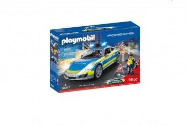 Porsche 911 Carrera 4S Polizei – Playmobil (réf 70067)