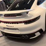 Un aileron type GT3 pour la Porsche 911 Type 992 par Porsche Exclusive Manufaktur