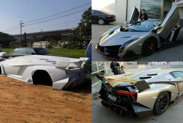 Des répliques de supercars (Lamborghini Veneno, Bugatti Chiron) Made in China