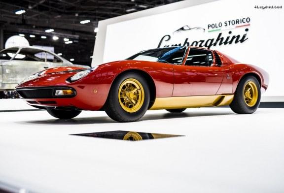 Rétromobile 2019 – Lamborghini Miura SV de 1972 de Jean Todt