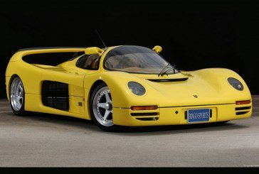 Schuppan 962CR – Une Porsche 962C de route fabriquée à 6 exemplaires