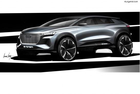Audi Q4 e-tron concept – Un avant goût avant Genève 2019