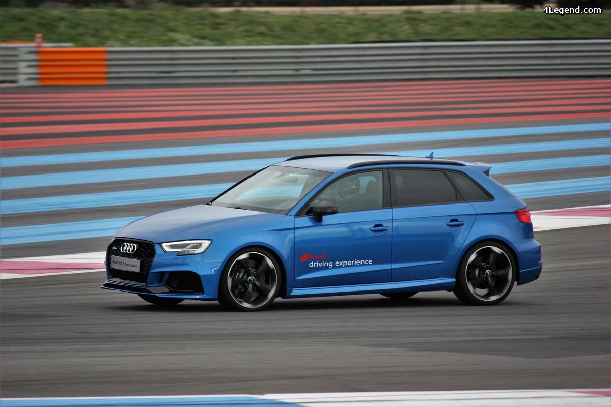 Audi France - rassemblement Audi Sport au Castellet le 19 avril